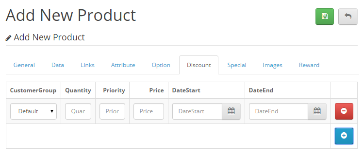Etsy Clone using Opencart-nd