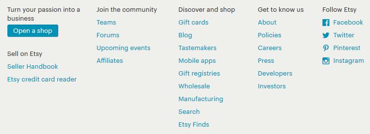 Etsy Clone using Opencart-gfd