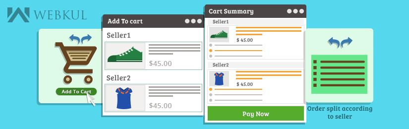 Prestashop Marketplace Cart And Order Split