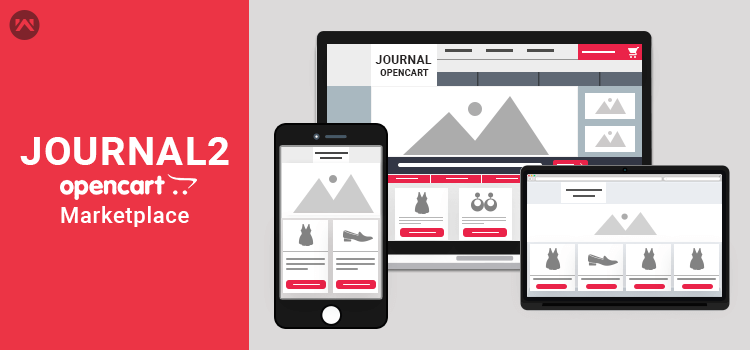 Opencart Marketplace support with Journal2 Theme