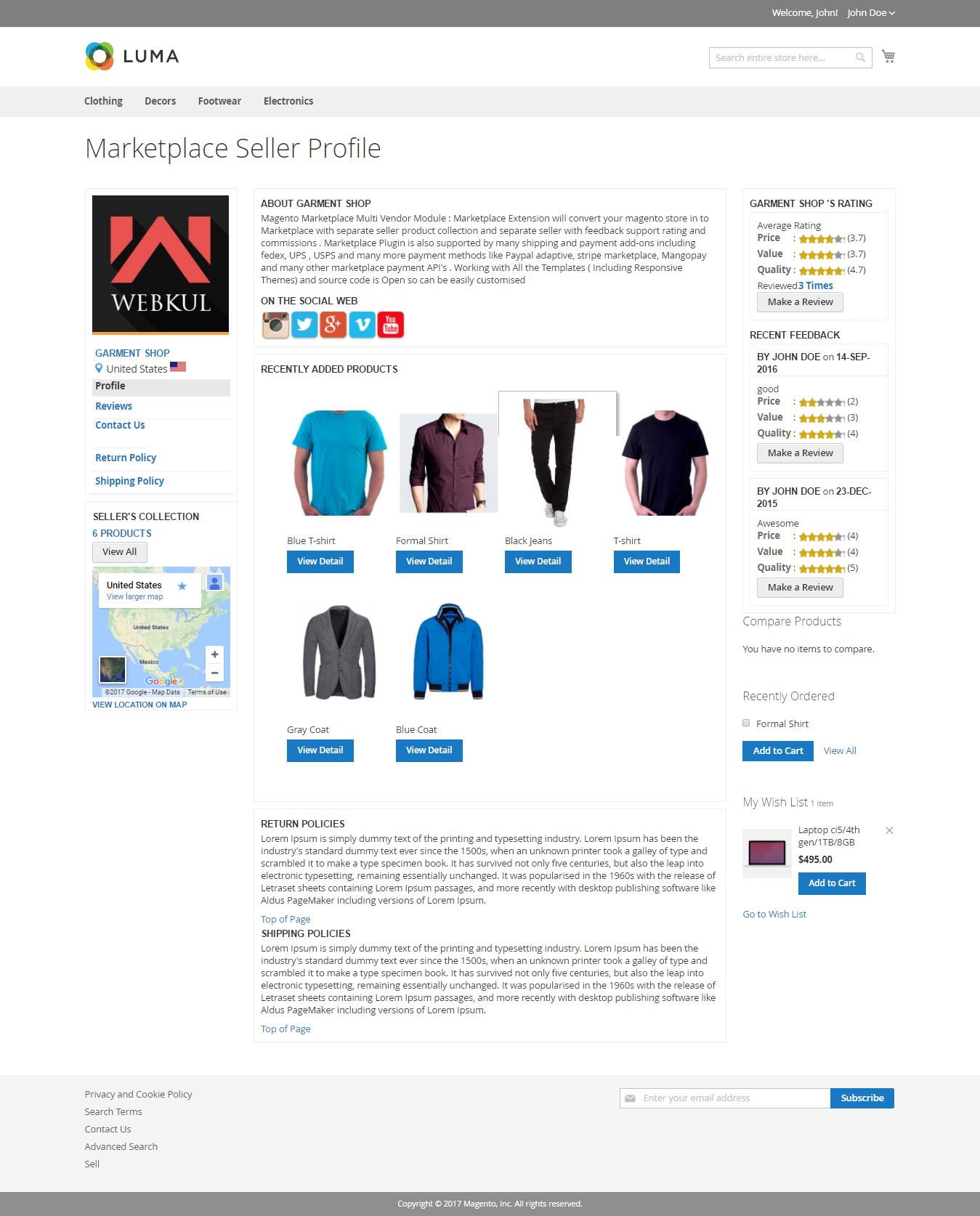 Sellers-Profile