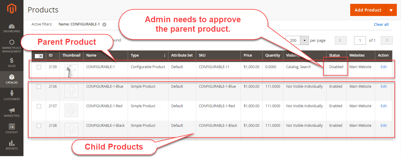 configurable product in magento