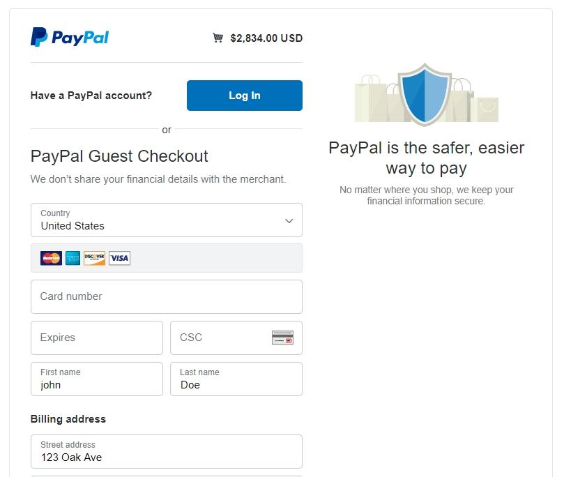 labx-paypal-gateway