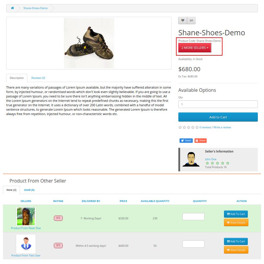 seller price comparison