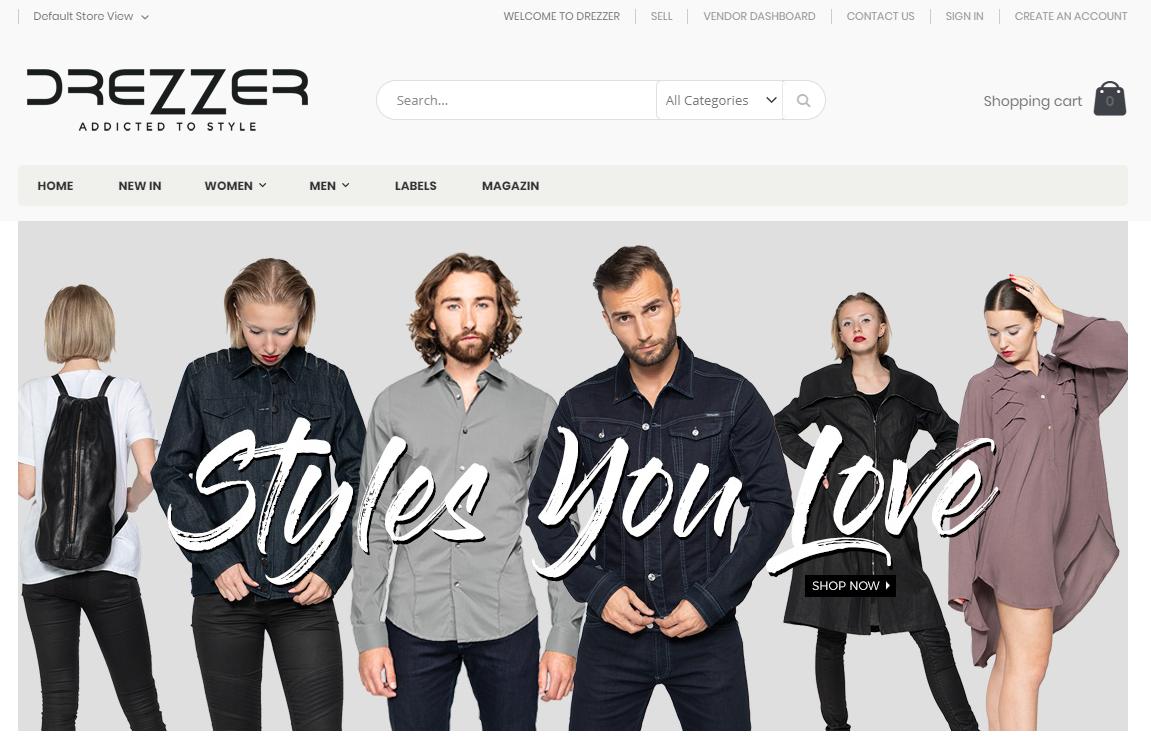 drezzer-homepage