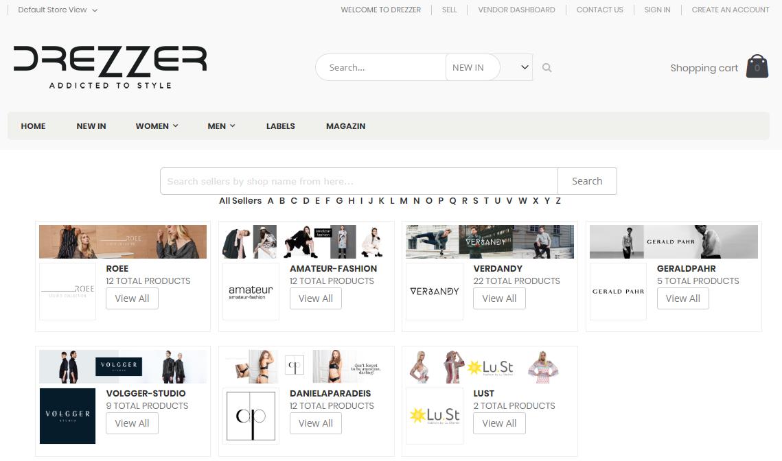 drezzer-marketplace-seller-list
