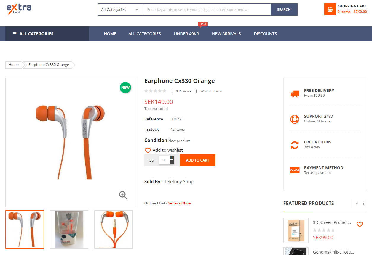 extramarkt-product-page