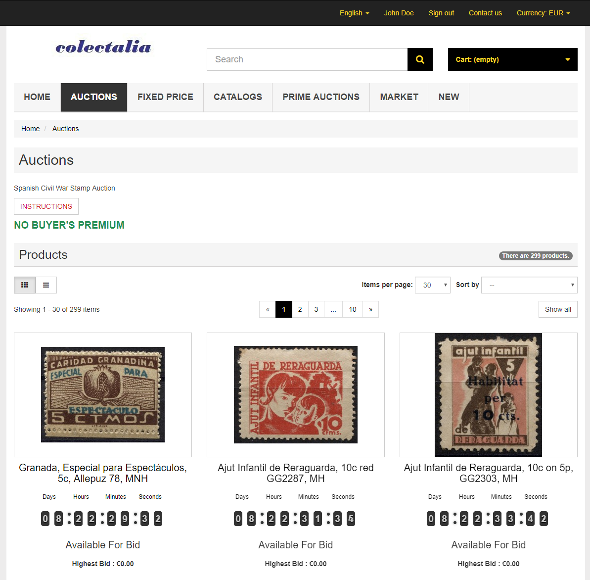 colectalia-auctions