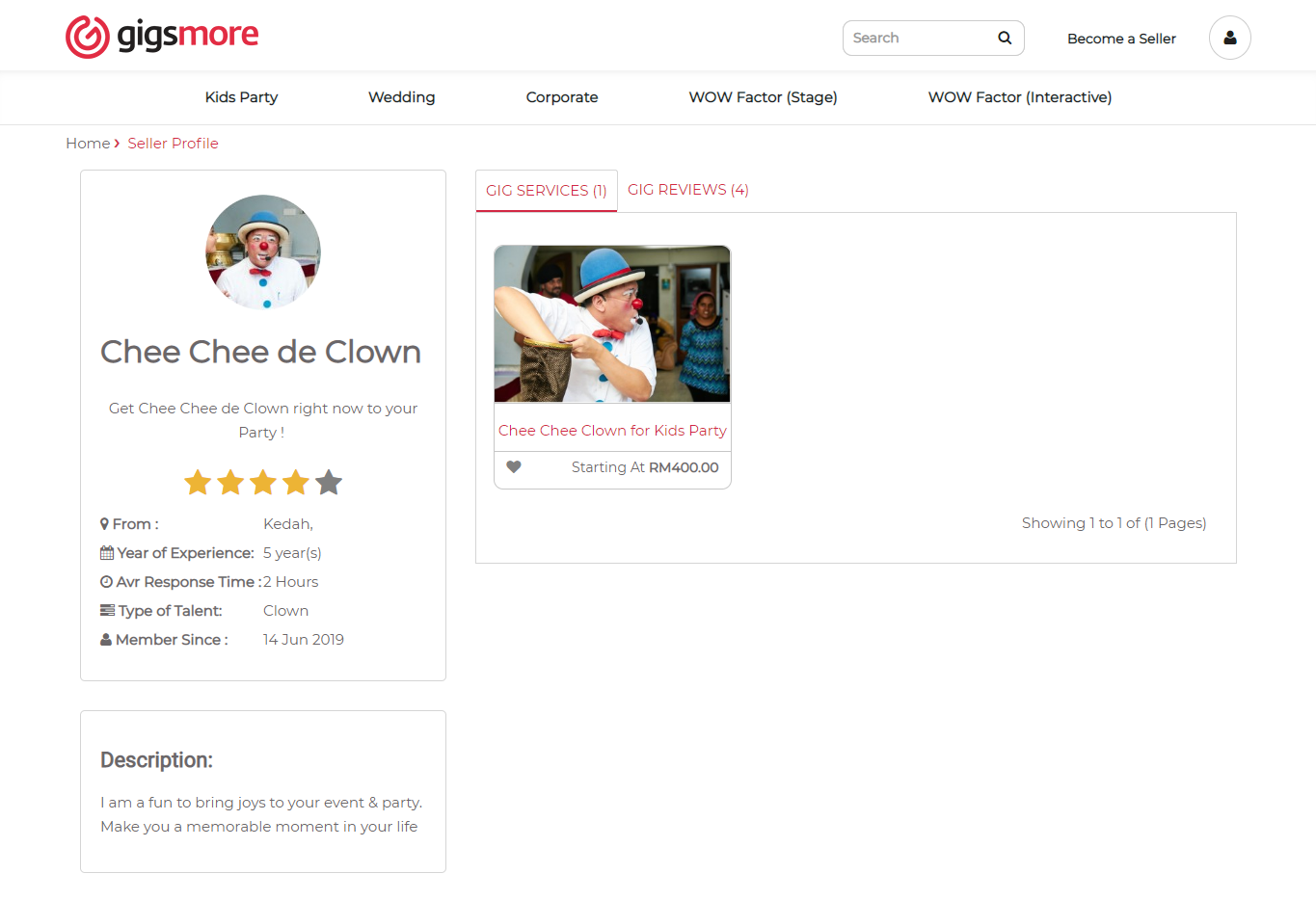 gigsmore-seller-profile-page
