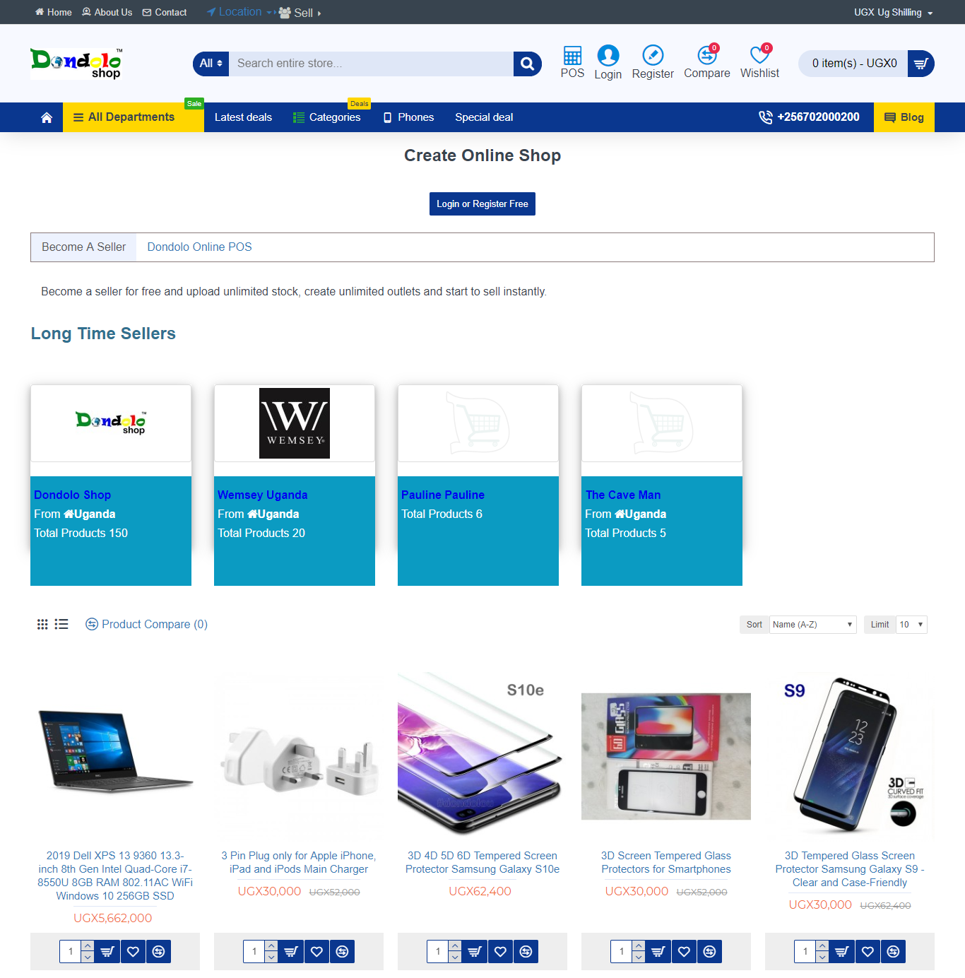 dondolo uganda ecommerce seller marketplace