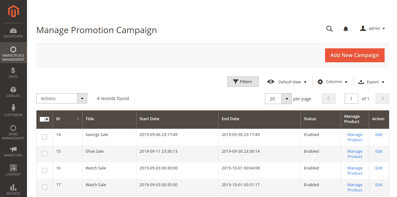 manage campaigning