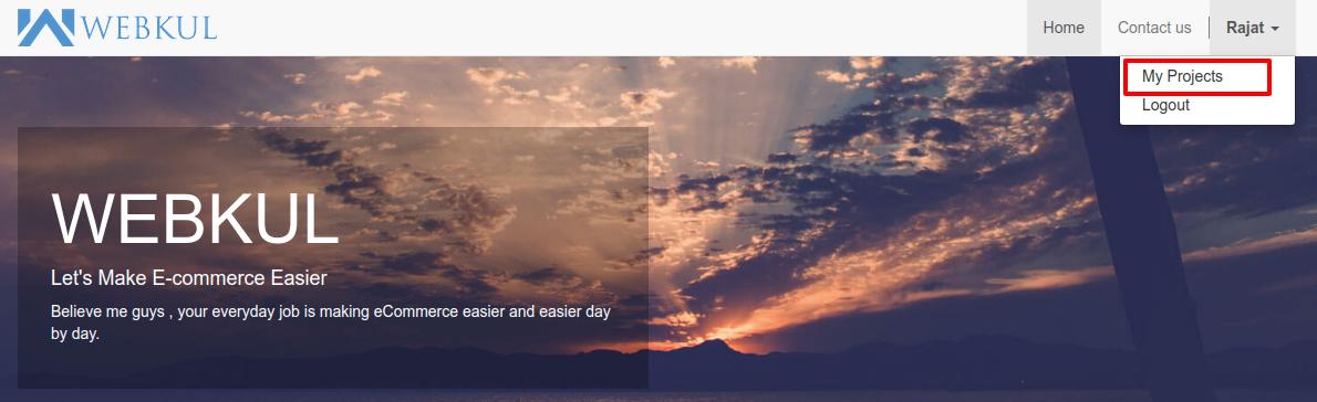 Homepage ERP