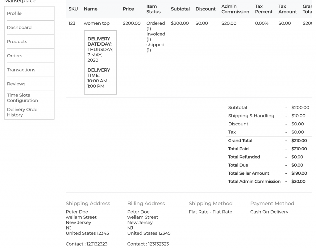 webkul-bagisto-laravel-marketplace-delivery-time-slot-seller-order-view-3